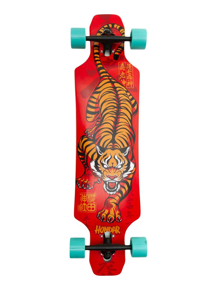 Longboard Hondar 40 Polegadas Tiger Freestyle