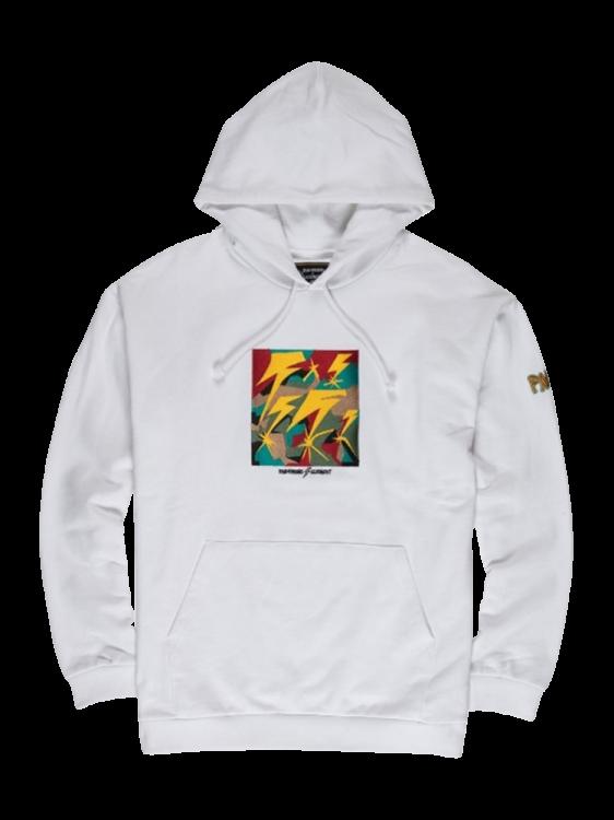 Moletom Element Brainstorm Hood Branco