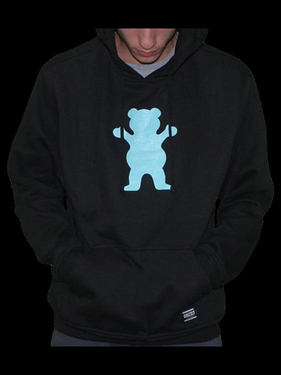 Moletom Grizzly OG Bear Pullover Hoodie Preto