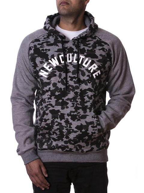 MOLETOM NEW BLACK CAMUFLAGE