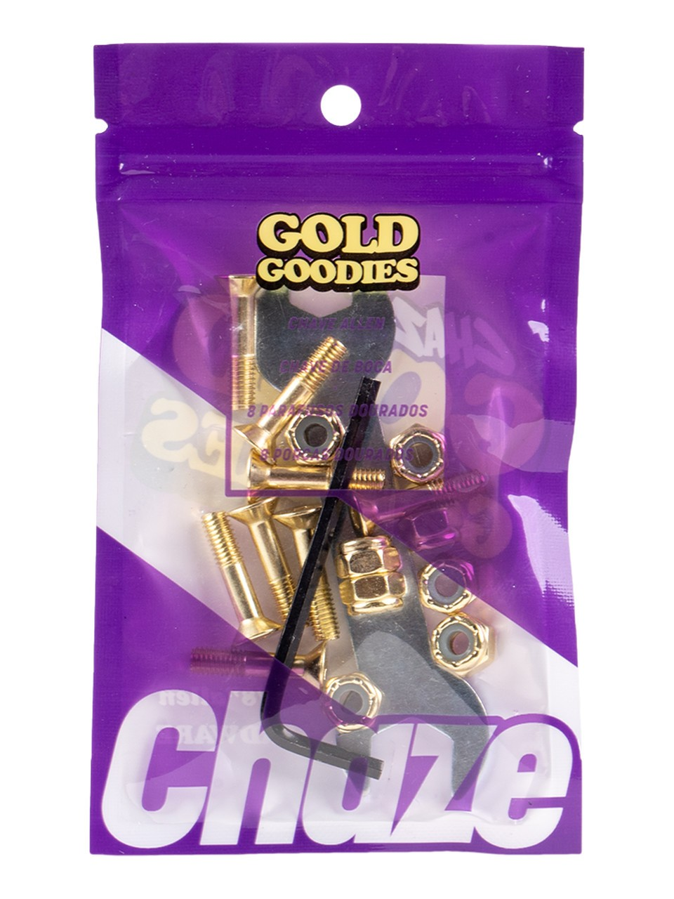 Parafuso De Base Chaze Street 2,5MM Gold