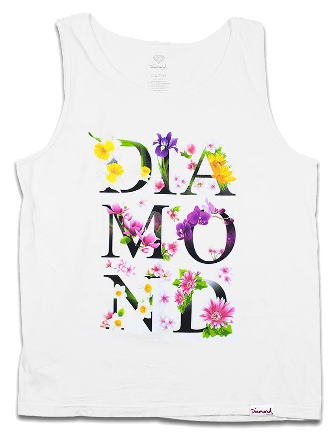 REGATA DIAMOND BOTANICAL TANK BRANCA