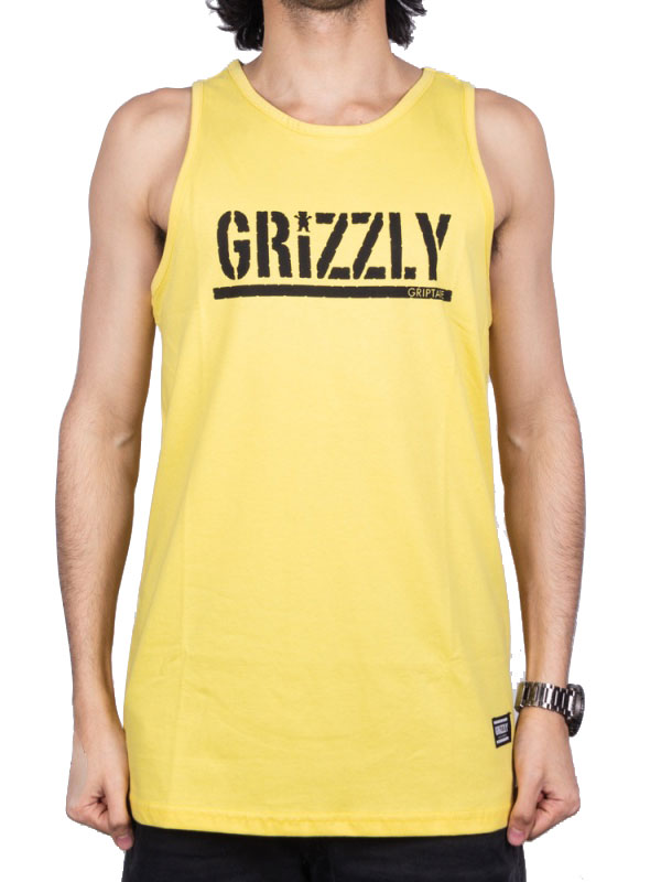 REGATA GRIZZLY STAMPED TANK BANANA