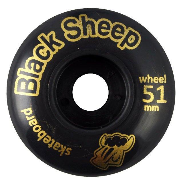 RODA BLACK SHEEP 51MM BLACK