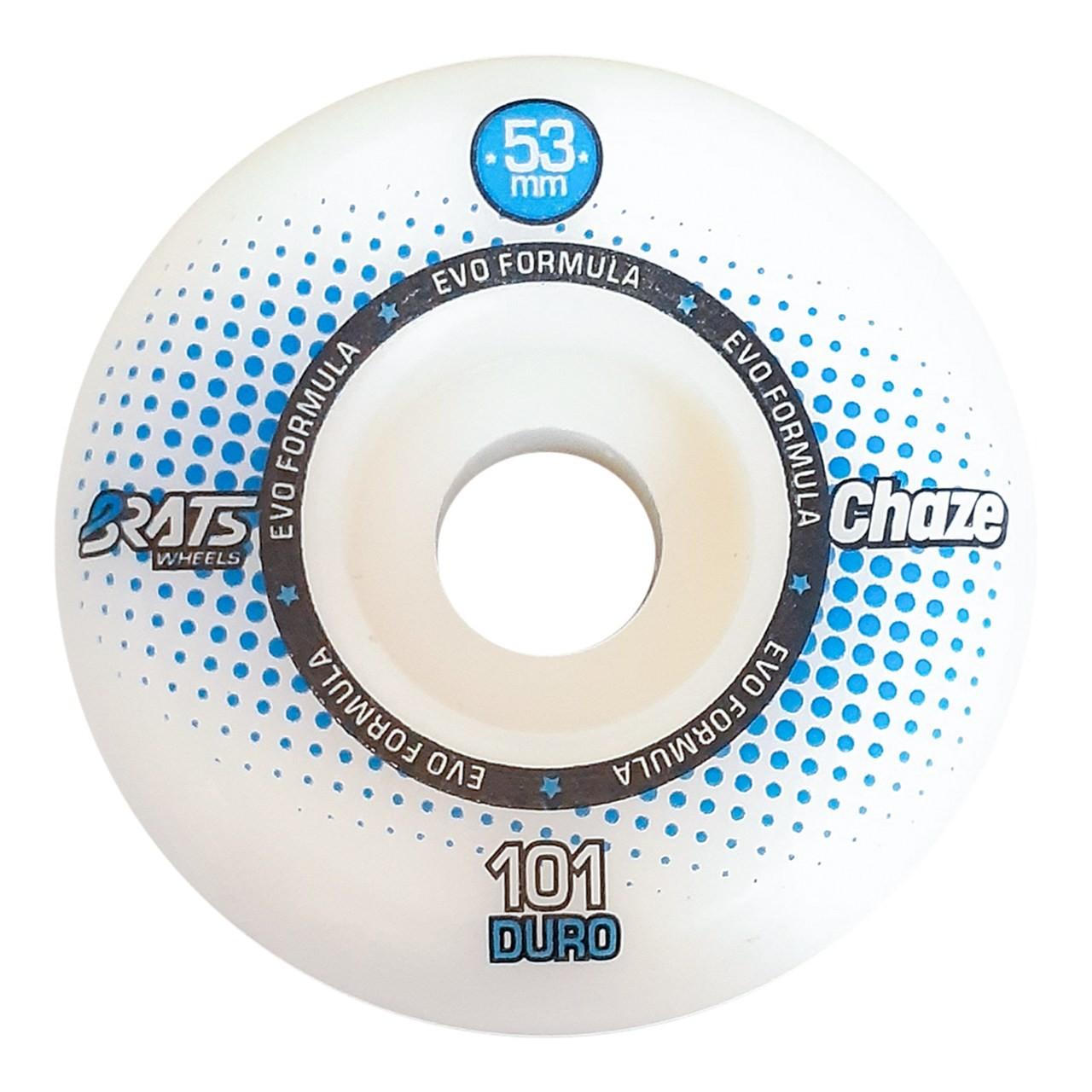 Roda Brats X Chaze 53MM Collab White 101A