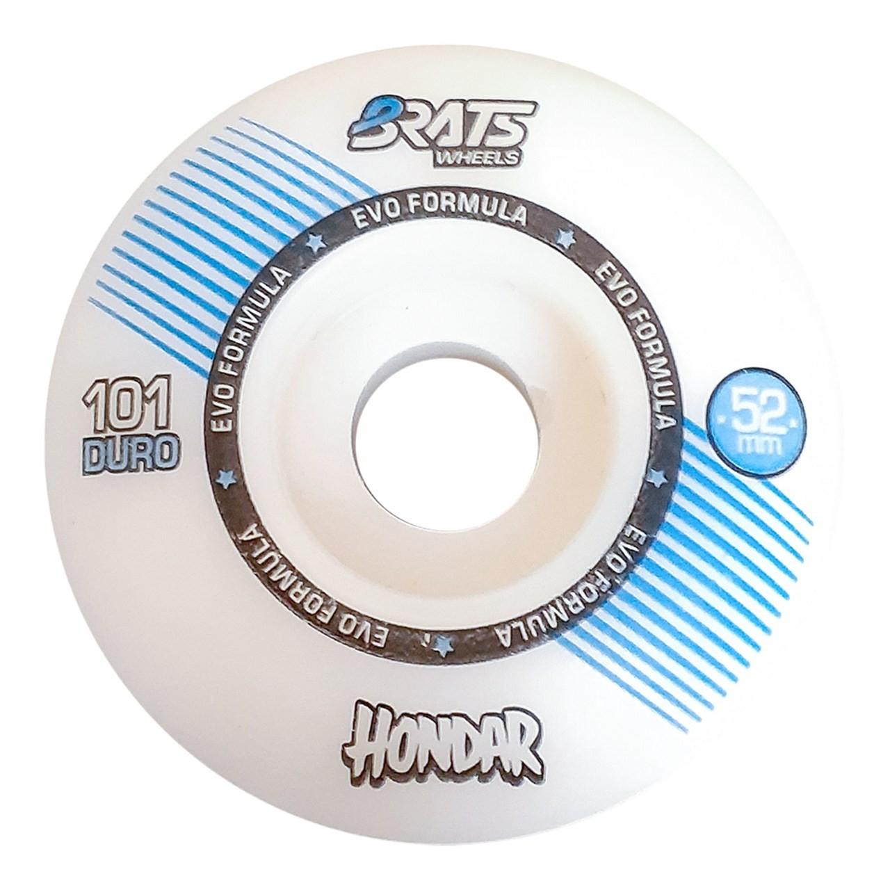 Roda Brats X Hondar 52MM Collab White 101A