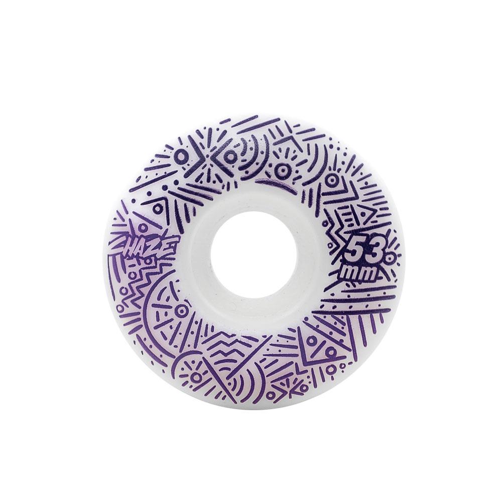 Roda Chaze 53MM Doble Tribal White / Purple 101A