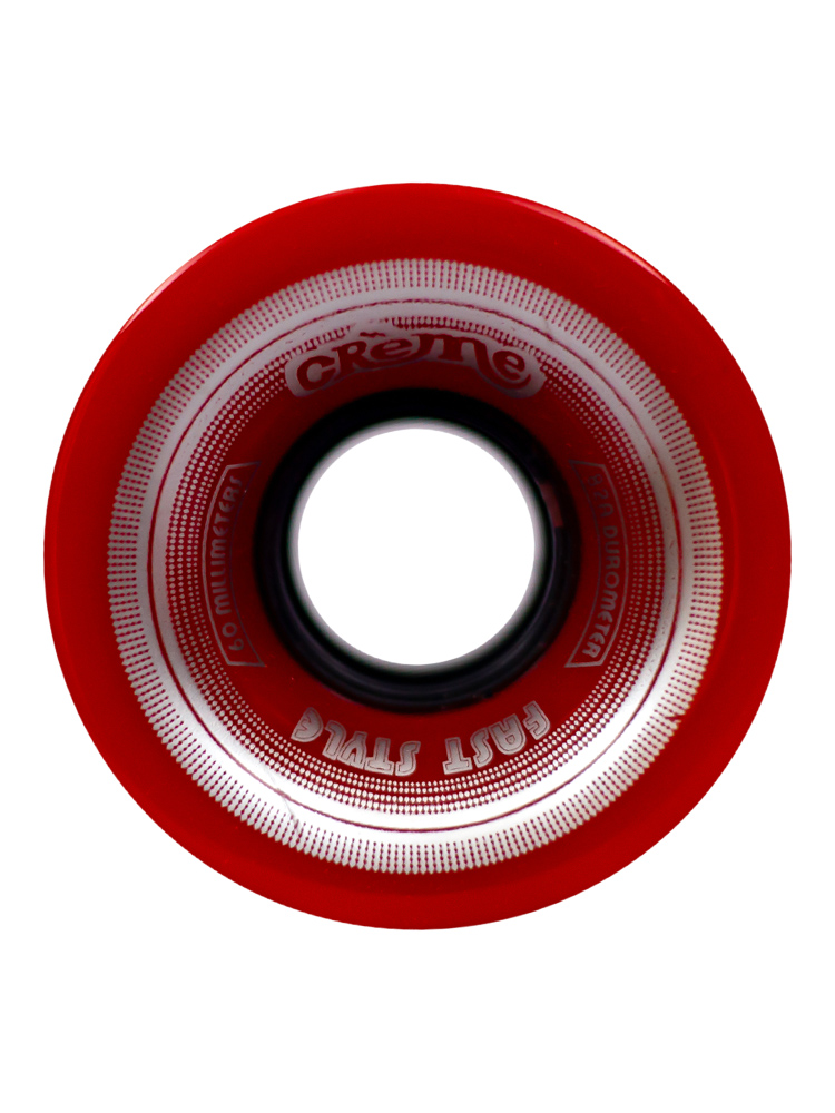 Roda Creme 60MM Lines Silver Red 82A