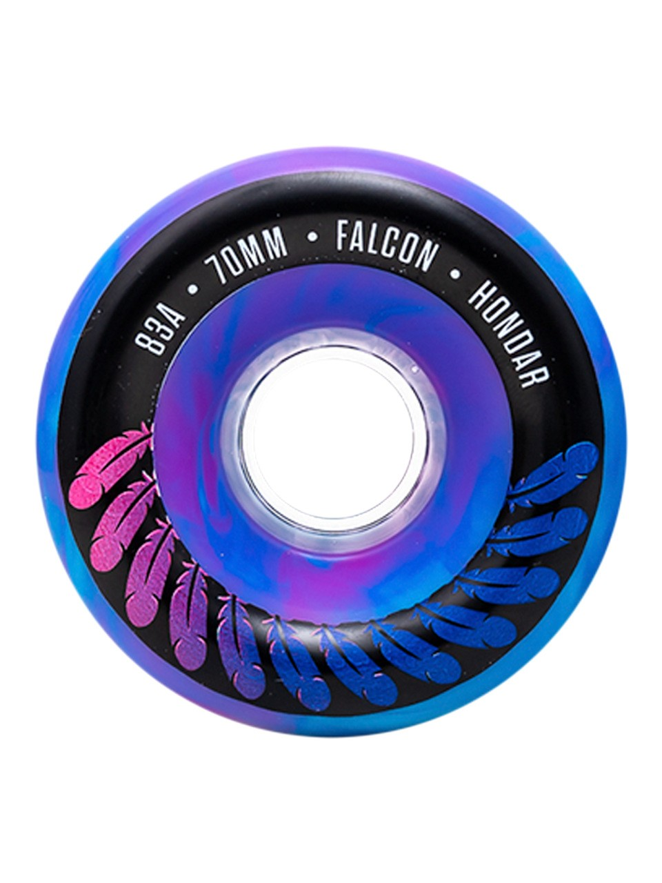 Roda Hondar 70MM Longboard Falcon Purple 83A
