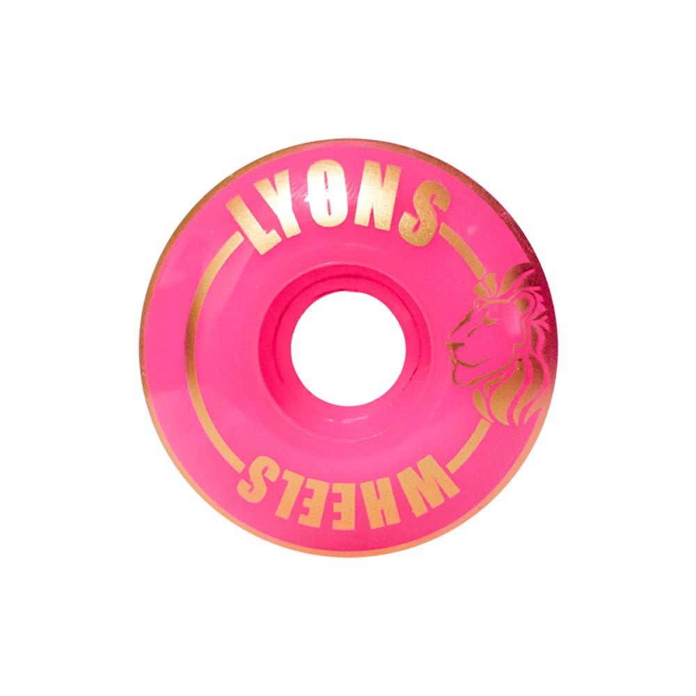 Roda Lyon 53mm Standard 95A Pink