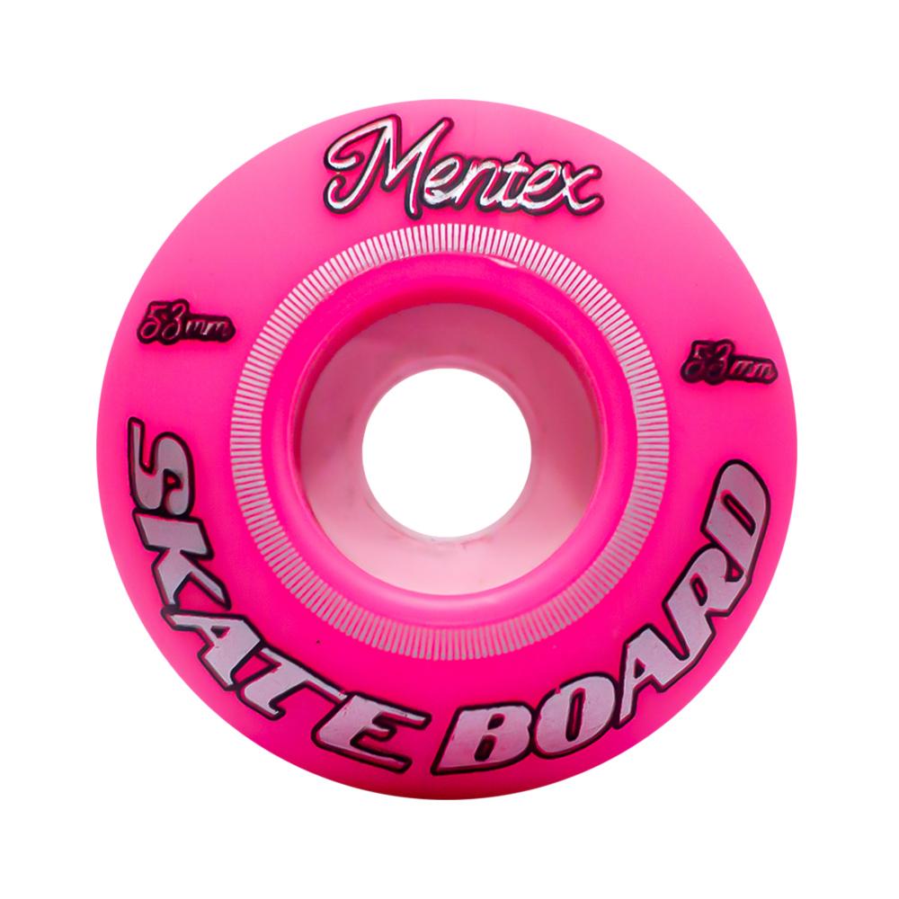 Roda Mentex 53MM Color Pink 95A