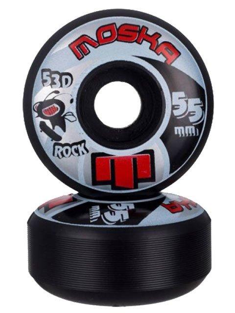 RODA MOSKA 55MM ROCK BLACK 53D