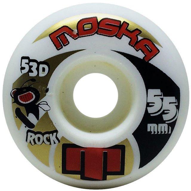 RODA MOSKA 55MM ROCK WHITE 53D