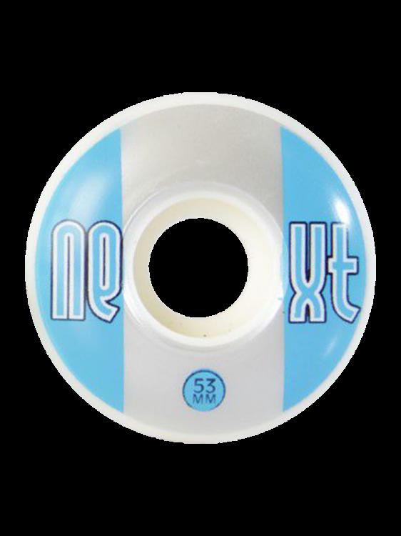 Roda Next 53MM White / Blue 52D