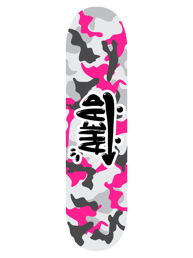 Shape Ahead 7.75 Military All Pink