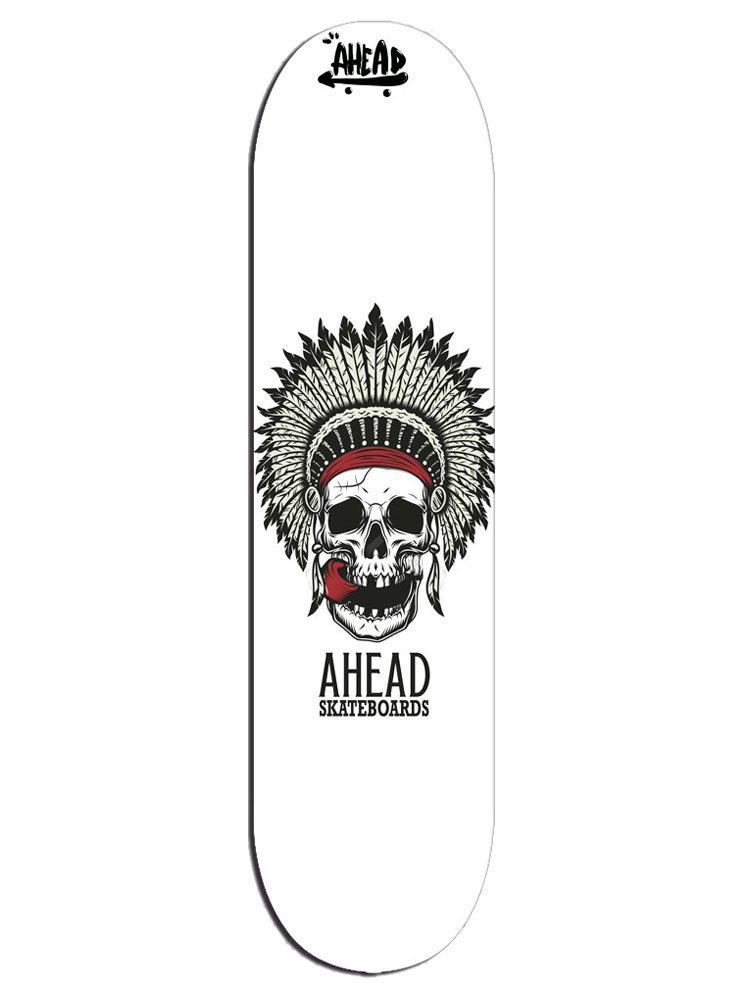 Shape Ahead 8.25 Bones Head Apache