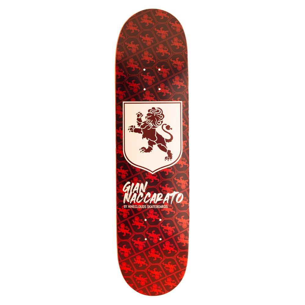 Shape Nineclouds 8.25 Pro Model Gian Naccarato Lion Red