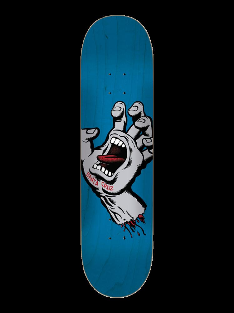 Shape Santa Cruz 8.5 Screaming Hand Silver / Blue