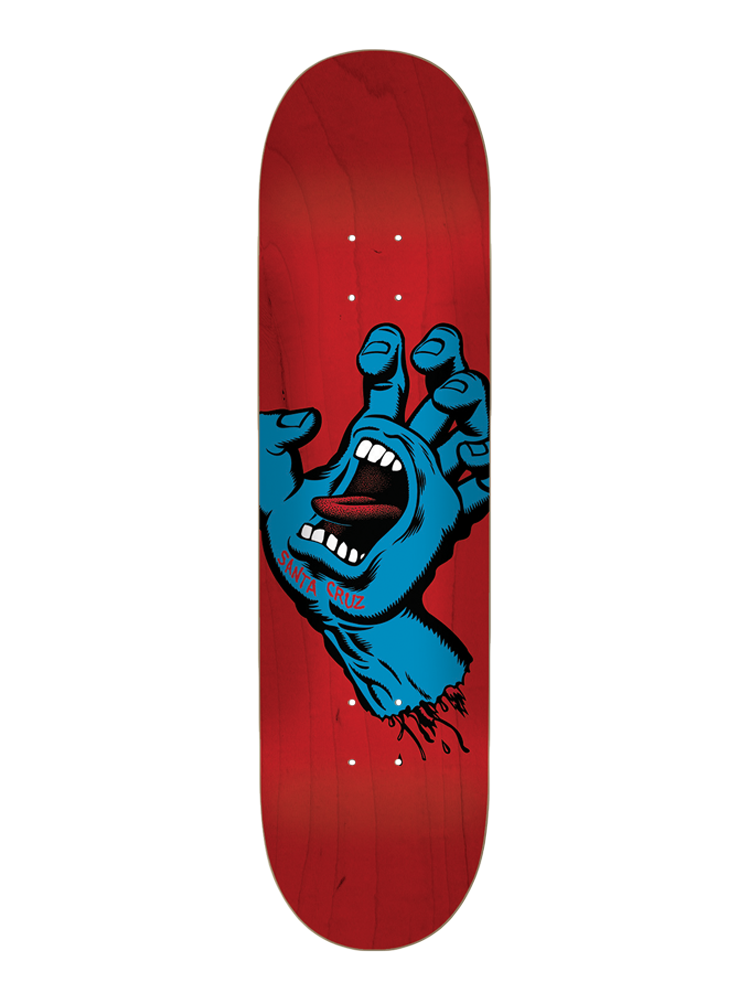 Shape Santa Cruz 8.75 Screaming Hand Blue / Red