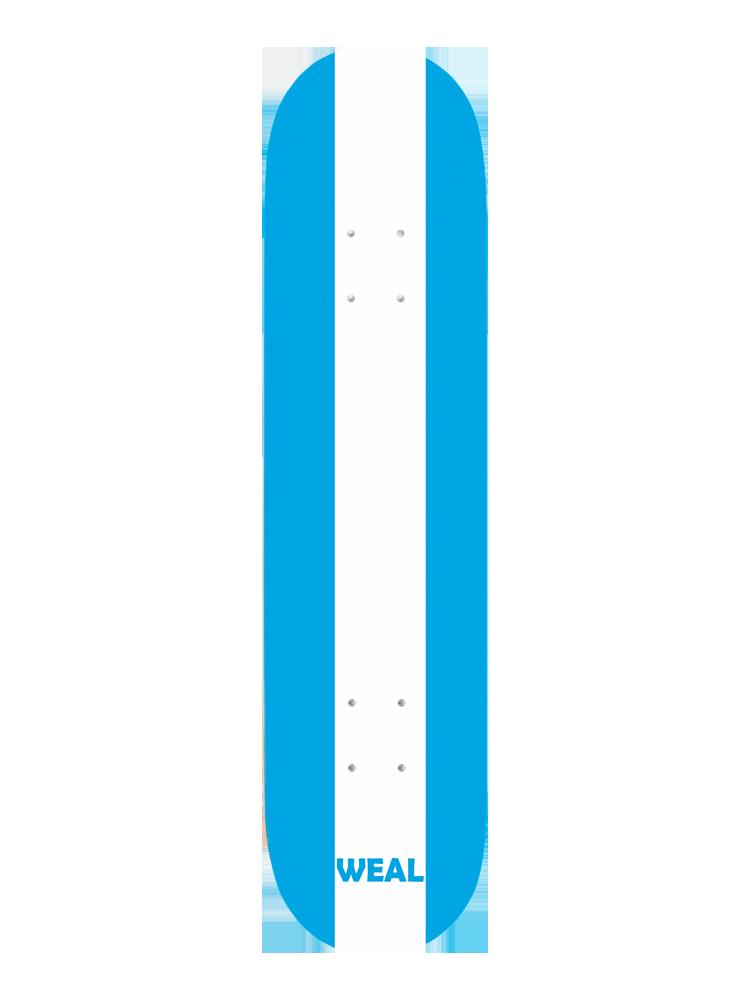 Shape Weal 7.75 Blue White