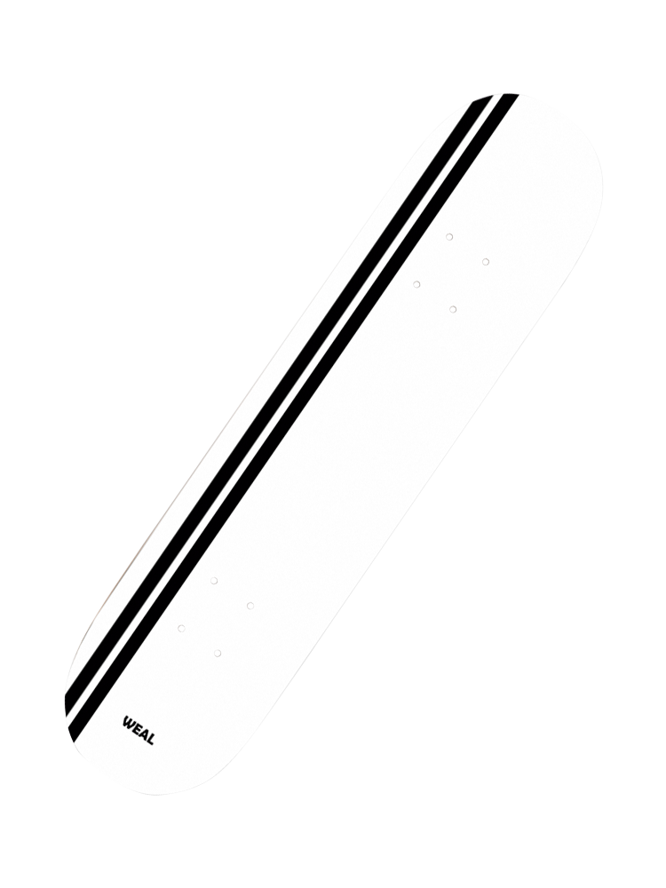 Shape Weal 7.75 stripe White
