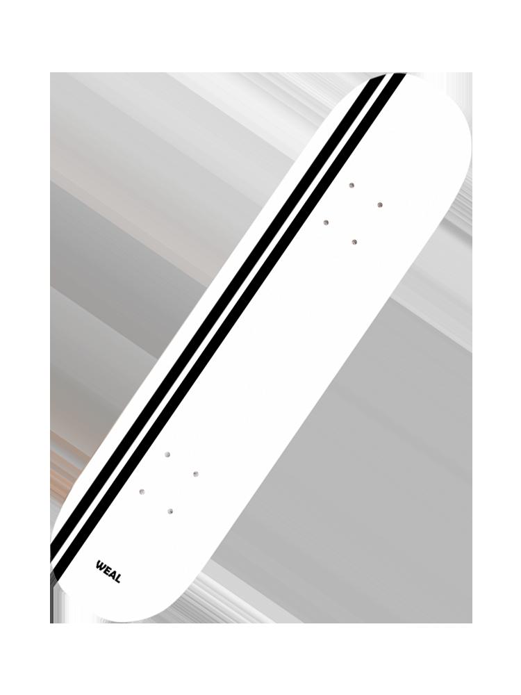 Shape Weal 8.25 stripe White
