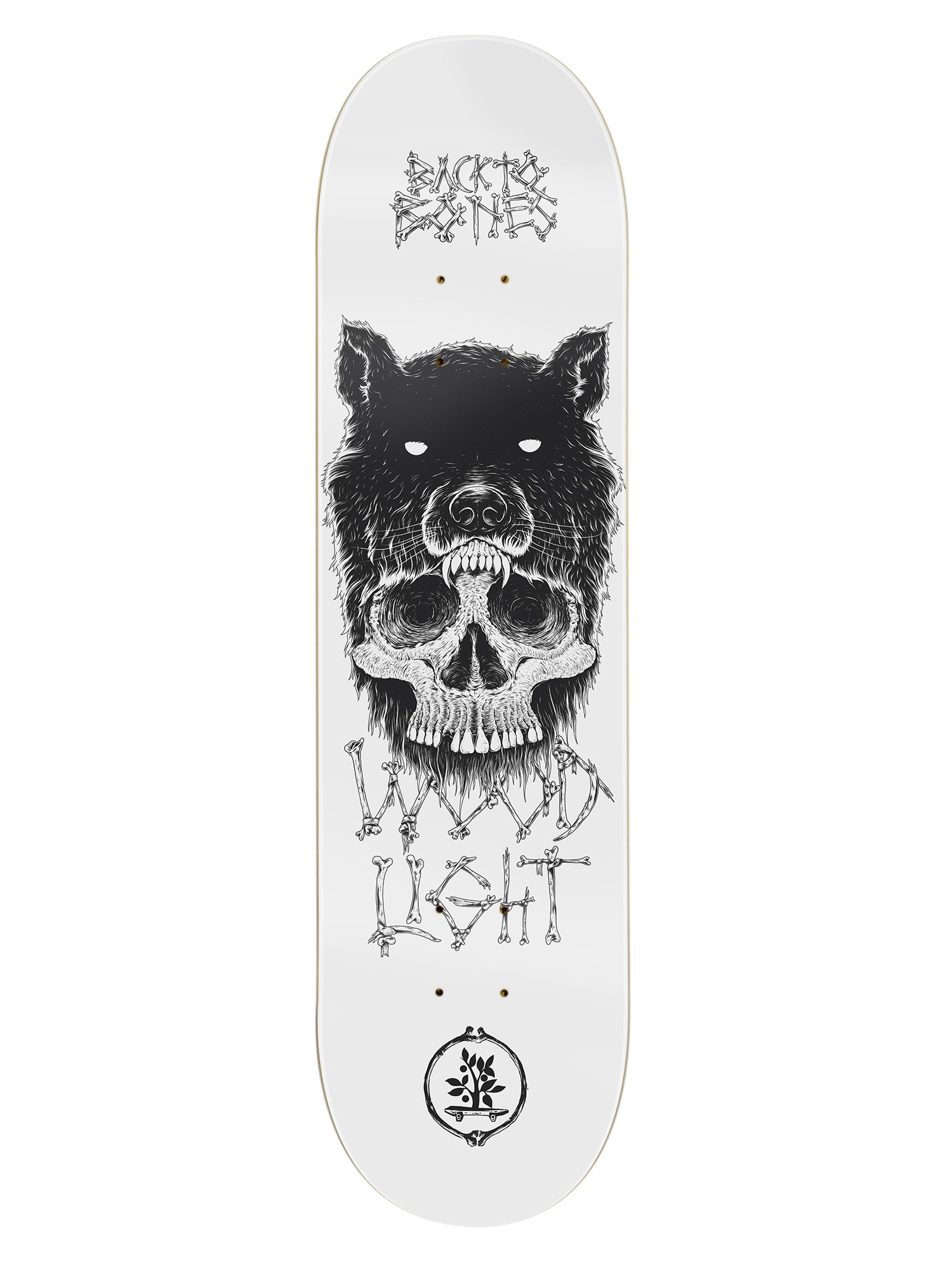 SHAPE WOOD LIGHT 8.0 BACK TO BONES WOLF