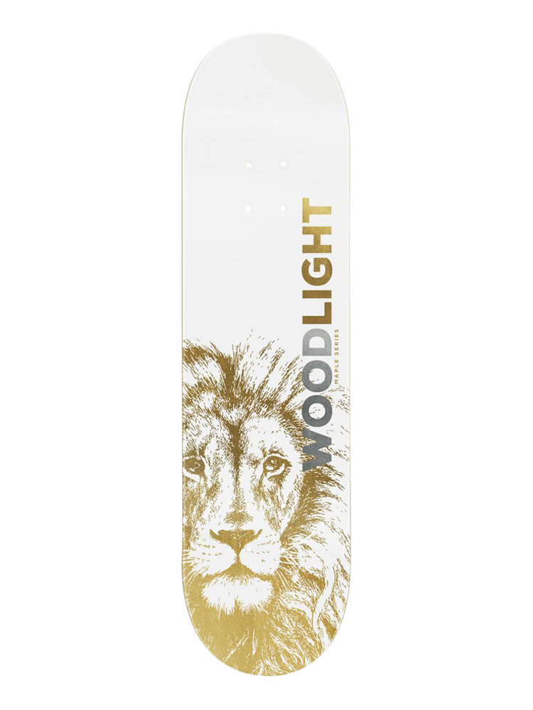 Shape Wood Light 8.25 Lion Gold