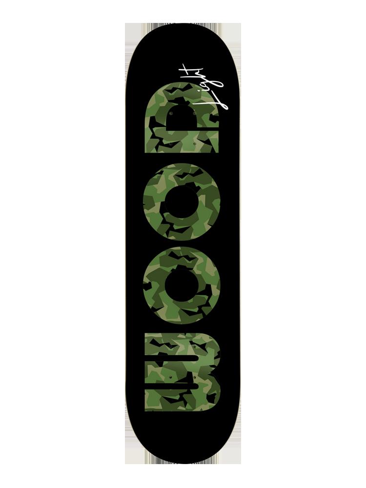 Shape Wood Light 8.5 Army Camo Green