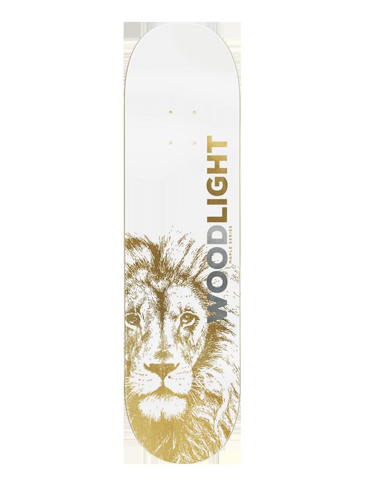 Shape Wood Light 8.5 Lion Gold
