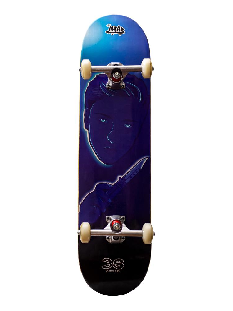 Skate Ahead 8.0 Collab 3S Skaters Diego Blue