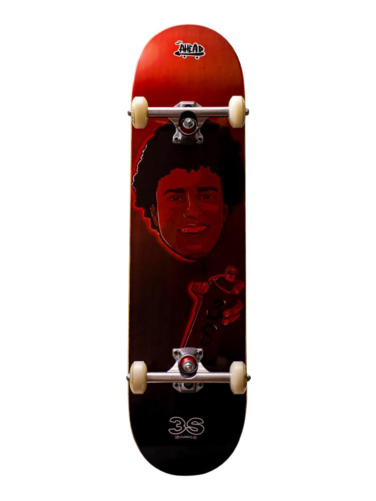 Skate Ahead 8.0 Collab 3S Skaters Digo Red