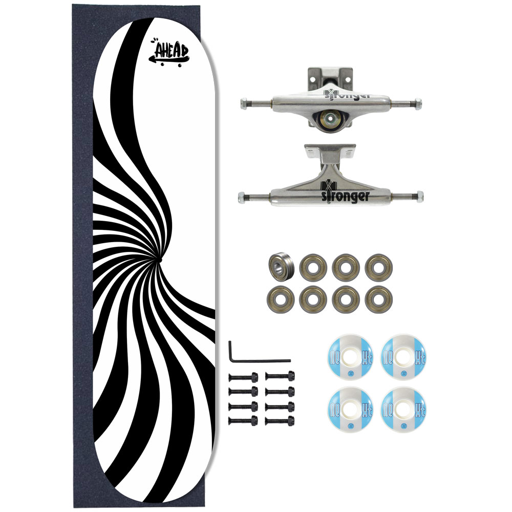 Skate Ahead Completo Amador Abstract Central Dot