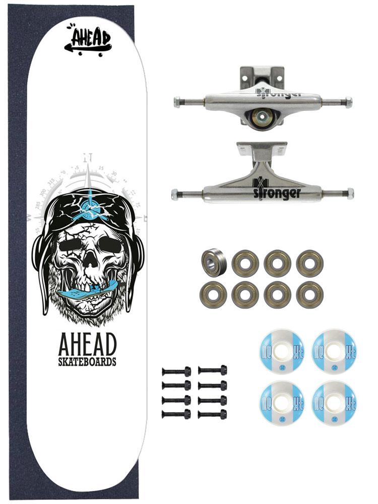 Skate Ahead Completo Amador Bones Head Pilot
