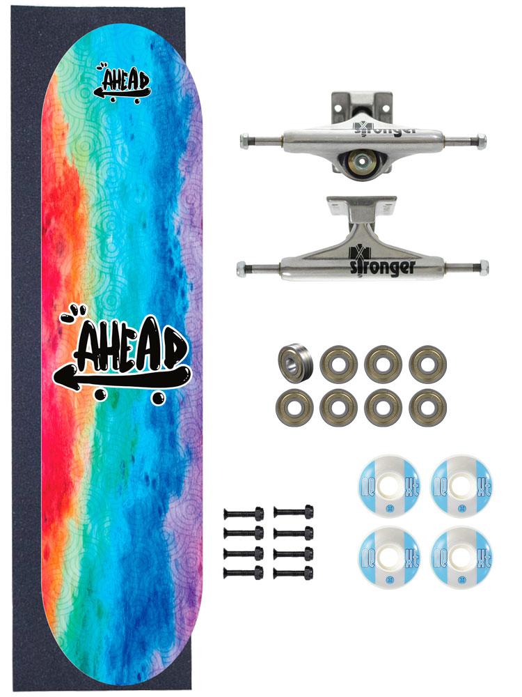 Skate Ahead Completo Amador Tie Dye On Impression