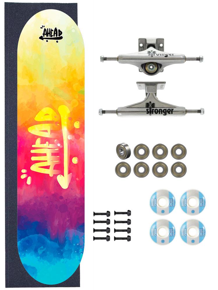 Skate Ahead Completo Amador Tie Dye Reissue