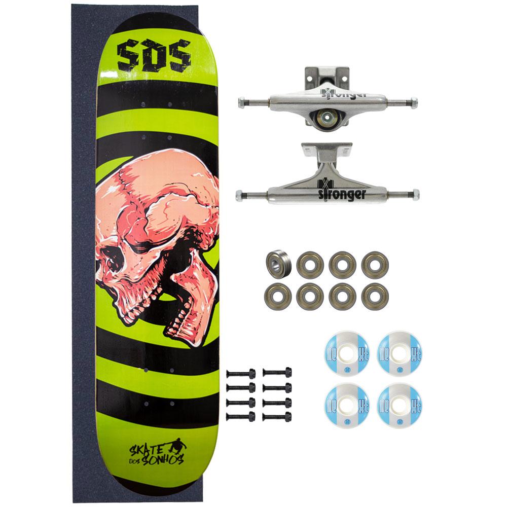 Skate Completo Amador SDS Co 8.0 Cranial Base