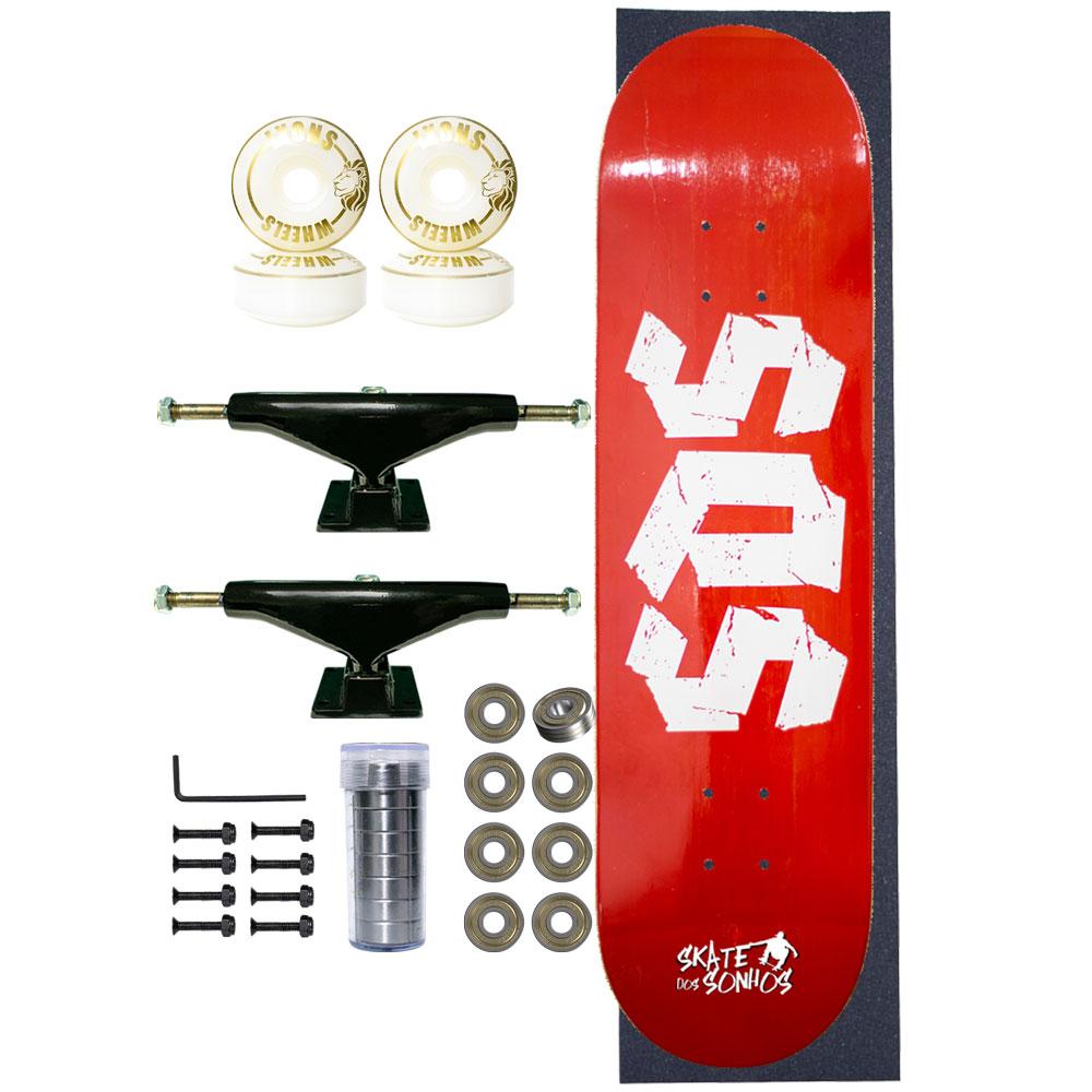 Skate Completo SDS Co 7.75 Blooding