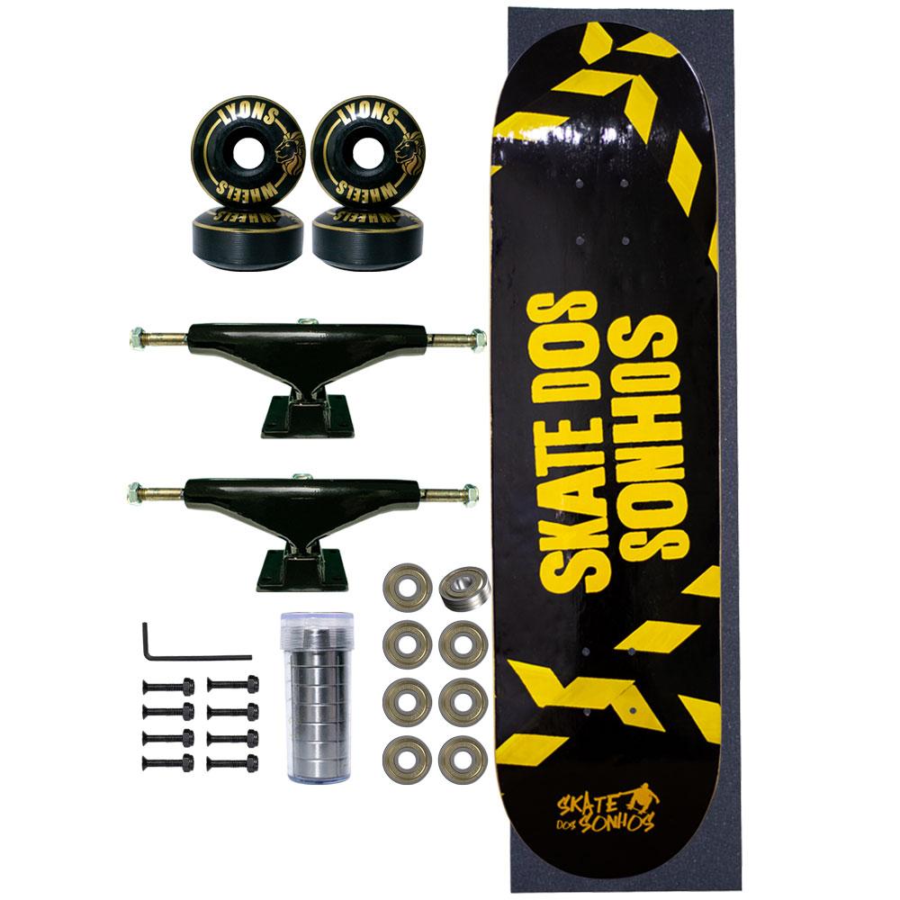 Skate Completo SDS Co 8.0 Limited Area