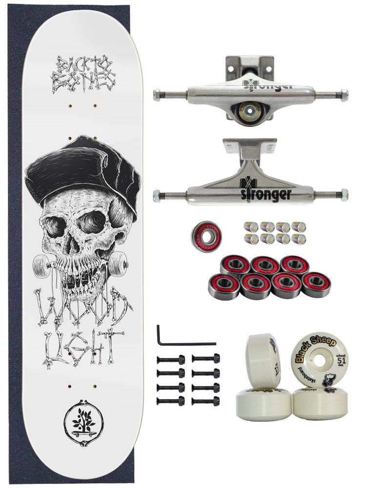Skate Wood Light Completo Amador 8.0 Model Cap