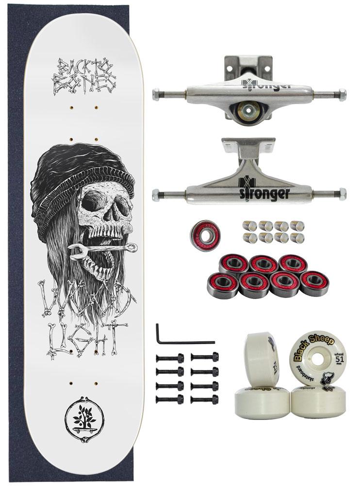 Skate Wood Light Completo Amador 8.0 Model Wrench
