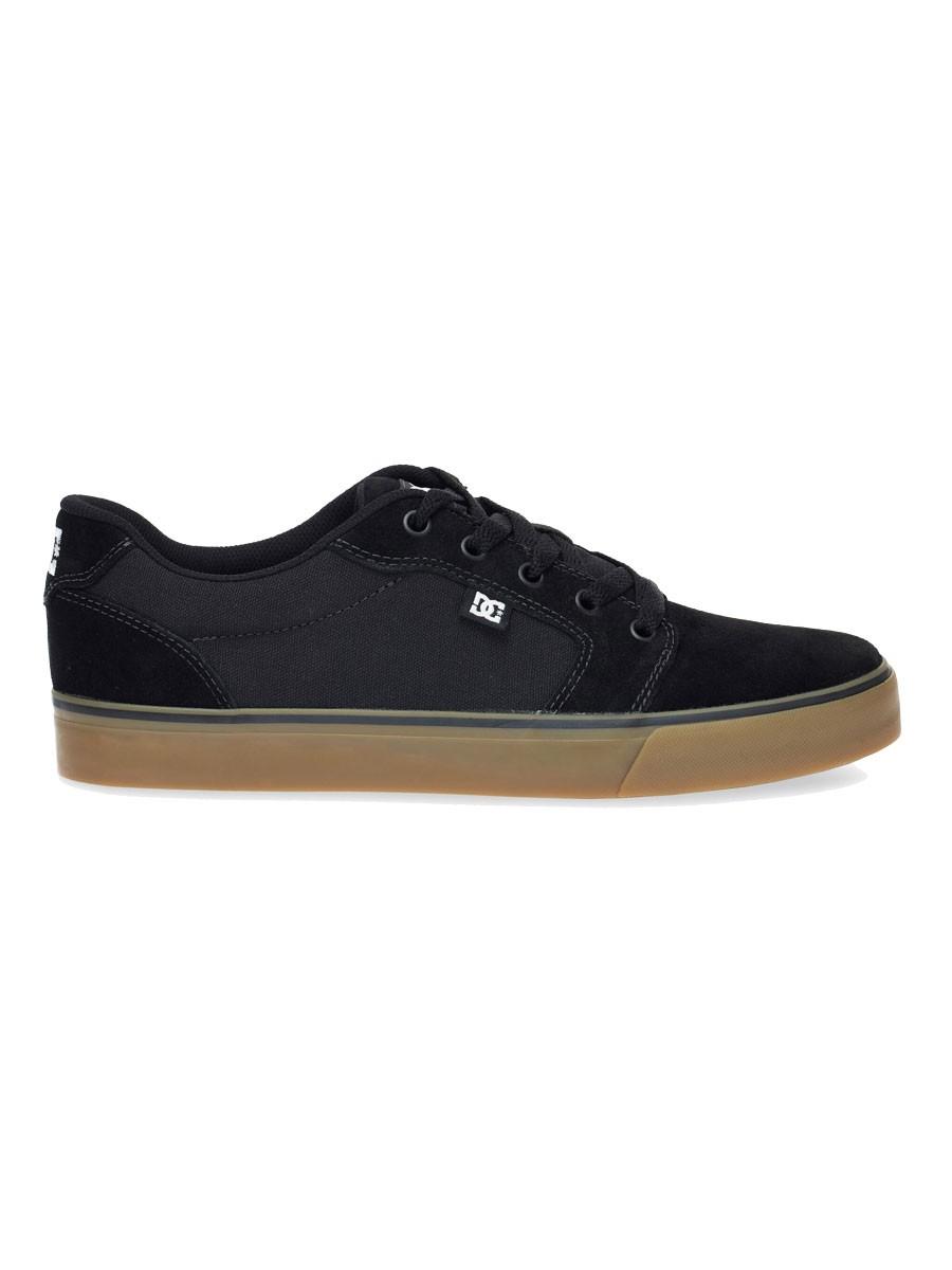 Tênis DC Shoes Anvil La Black / Brown