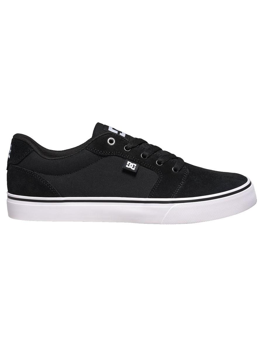 Tênis DC Shoes Anvil La Black / White