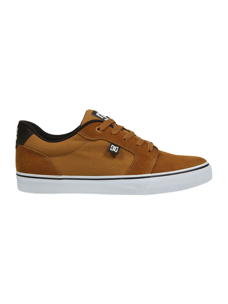 Tênis DC Shoes Anvil LA Brown / White