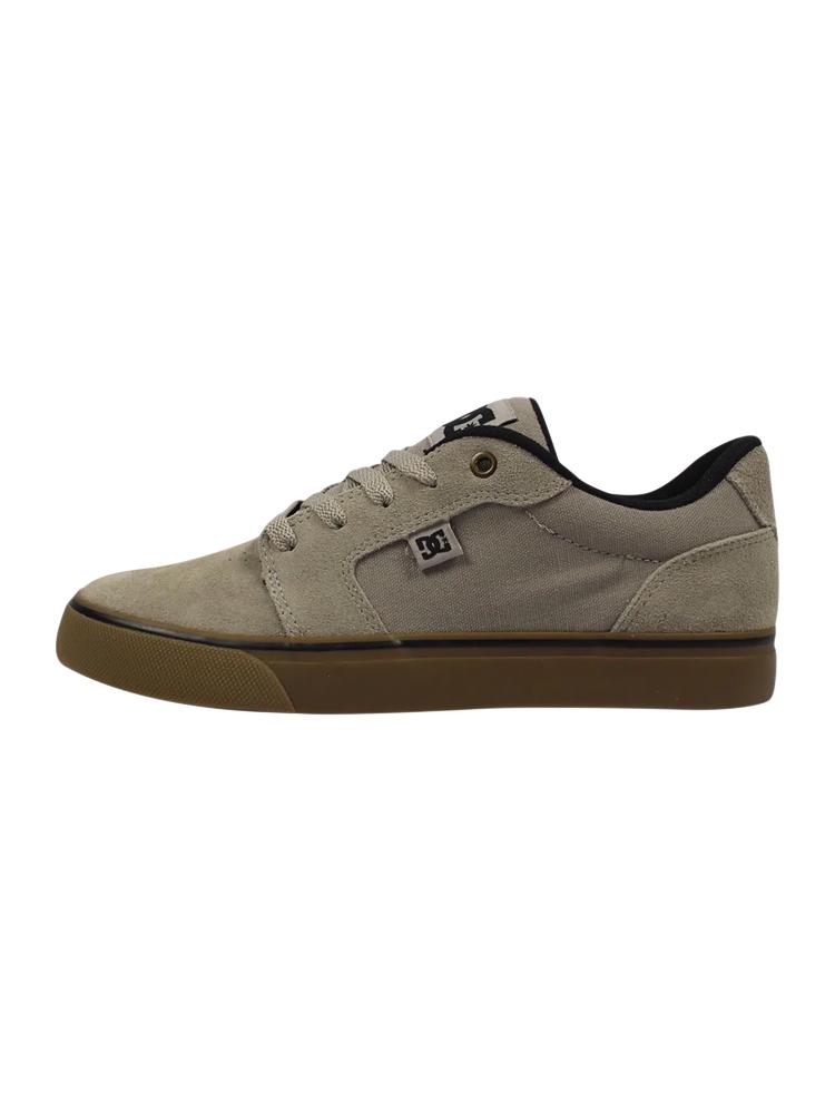 Tênis DC Shoes Anvil La Cinza / Gum