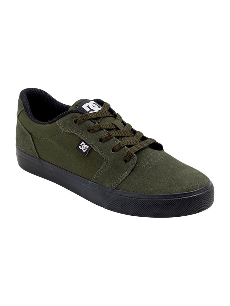 Tênis DC Shoes Anvil La Mountain View Verde / Preto
