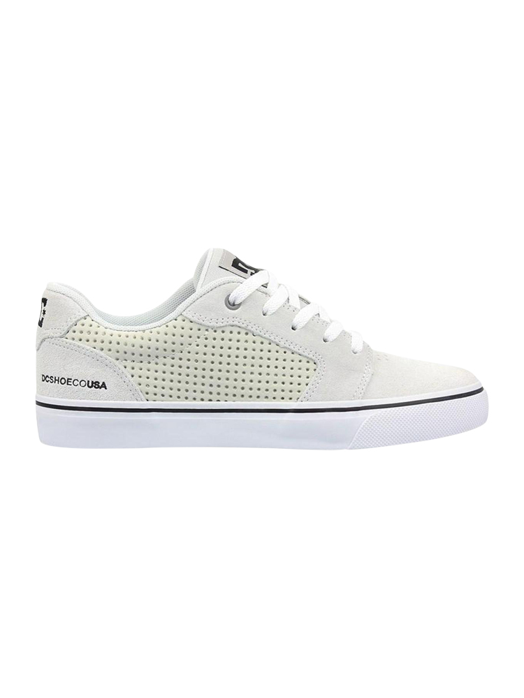 Tênis DC Shoes Anvil La Se Branco