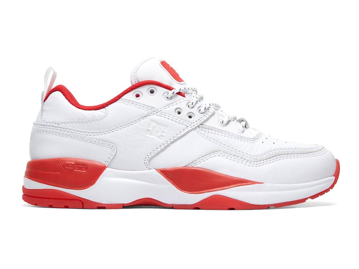Tênis DC Shoes E.Tribeka S Js White / Red