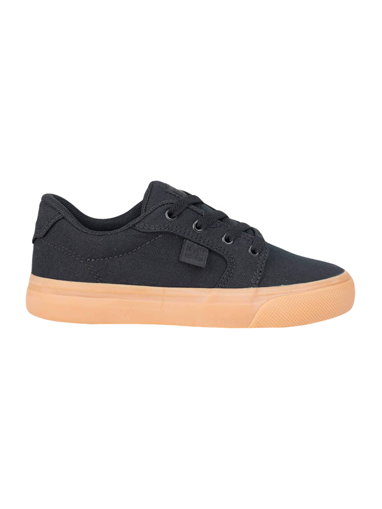 Tênis DC Shoes Infantil Anvil TX LA Black / Brown