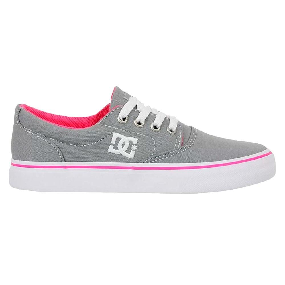 Tênis DC Shoes New Flash II TX Light Grey